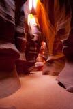 De Canion van de antilope Royalty-vrije Stock Afbeeldingen