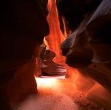 De Canion van de antilope Stock Afbeelding