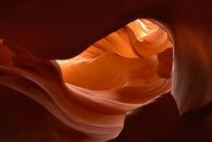 De Canion van de antilope in Arizona Royalty-vrije Stock Afbeeldingen