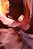 De Canion van de antilope, AZ Stock Afbeeldingen