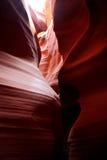De canion van de groef in Arizona Royalty-vrije Stock Afbeeldingen