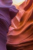 De canion van de groef in Arizona Stock Afbeeldingen