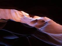 De canion van de groef in Arizona Stock Afbeelding