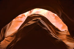 De canion van de groef in Arizona Stock Fotografie