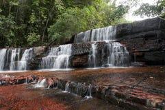 De canion van de jaspis. Venezuela stock afbeeldingen