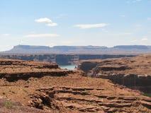 De Canion van de nauwe vallei royalty-vrije stock foto