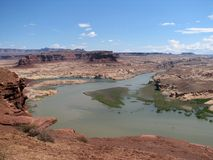 De Canion van de nauwe vallei stock afbeelding