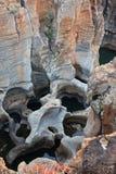 De Canion van de Rivier van Blyde Stock Afbeelding