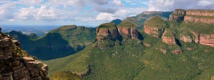 De Canion van de Rivier van Blyde, Zuid-Afrika Royalty-vrije Stock Afbeeldingen