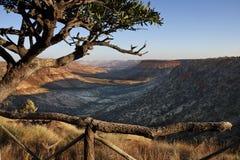 De Canion van de Rivier van de klem in Namibië Royalty-vrije Stock Foto