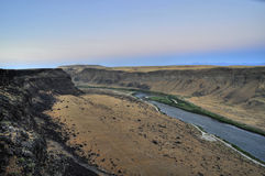 De Canion van de Rivier van de slang, Idaho Royalty-vrije Stock Foto