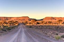 De Canion van de vissenrivier - Namibië, Afrika stock foto