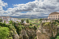 De canion van Gr Taag in Ronda Royalty-vrije Stock Fotografie