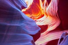 De canion van de groef in Arizona royalty-vrije stock foto's