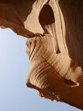 De canion van het kalksteen in Sinai Schiereiland Stock Afbeeldingen