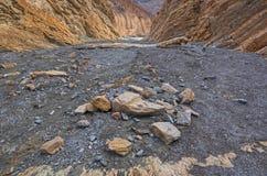 De Canion van het mozaïek, de Vallei van de Dood royalty-vrije stock afbeelding