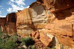 De Canion van koningen, Australië Stock Foto's