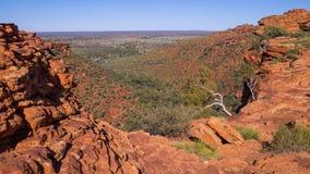 De Canion van koningen, Australië stock afbeeldingen
