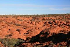 De Canion van koningen, Watarrka Nationaal Park, Australië stock afbeeldingen