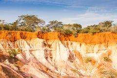De Canion van Marafa - Kenia Stock Foto
