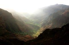 De Canion van Waimea, Kauai Stock Afbeelding