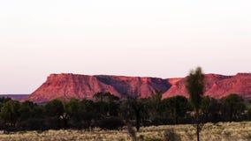 De Canion van zonsondergangkoningen stock video