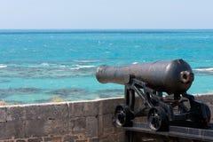 De canon van de Bermudas royalty-vrije stock foto