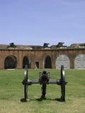De Canons van fortpulaski Royalty-vrije Stock Afbeeldingen