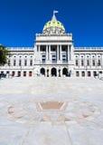 De capitolbouw van de Staat van Pennsylvania Stock Afbeelding