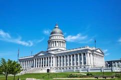 De capitolbouw van de staat van Utah in Salt Lake City Royalty-vrije Stock Afbeeldingen