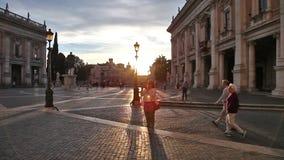 De Capitoline-Heuvel stock video