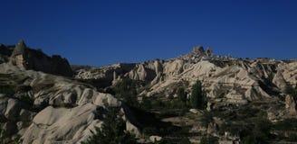 De Cappadocia paisaje Gereme fantástico Imagen de archivo libre de regalías