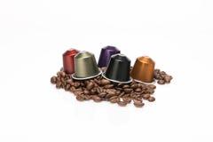 De capsule van de koffie Royalty-vrije Stock Foto's
