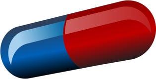 De capsule van de pil royalty-vrije illustratie