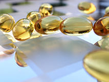 De capsules van de geneeskunde royalty-vrije stock foto's