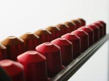 De capsules van de koffie Stock Foto