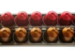 De capsules van de koffie Royalty-vrije Stock Afbeelding