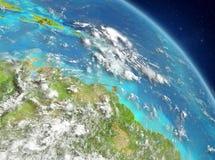 De Caraïben van baan royalty-vrije illustratie