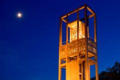 De carillon van Nederland in de vriendschap van Arlington Virginia royalty-vrije stock afbeeldingen