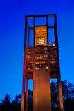 De carillon van Nederland in de vriendschap van Arlington Virginia stock foto