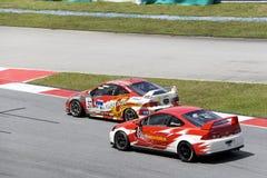 De carro série super malaia da ação da raça Fotos de Stock