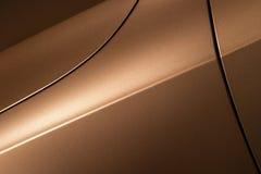 De carrosserie van de bronssedan stock fotografie