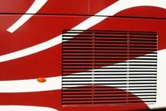 De carrosserie van de bus Royalty-vrije Stock Foto's