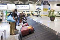 De Carrousel van de bagage Royalty-vrije Stock Afbeeldingen
