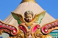 De carrousel van de engel Royalty-vrije Stock Foto