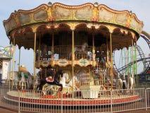De Carrousel van de promenade royalty-vrije stock afbeeldingen