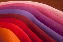 De carte de papier coloré photos libres de droits
