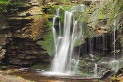 De cascade van de Blackwaterwaterval Stock Afbeeldingen