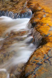 De Cascade van de Dalingen van Autrain van de herfst Stock Afbeelding