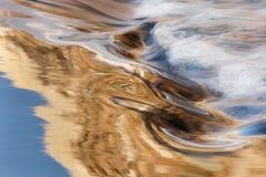 De Cascade van de Portagekreek Royalty-vrije Stock Foto's